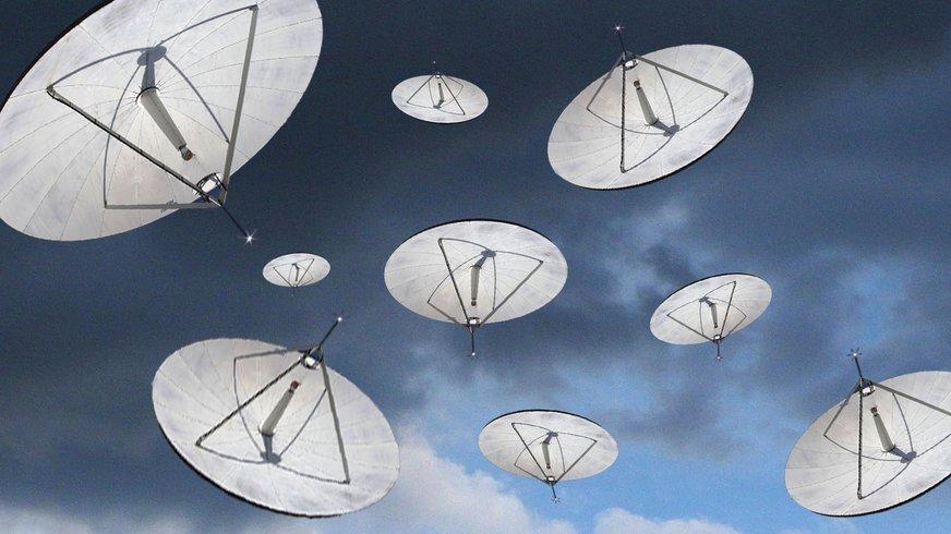 Satelliten Ufo