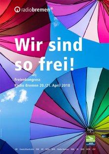 Freienkongress 2018 Plakat